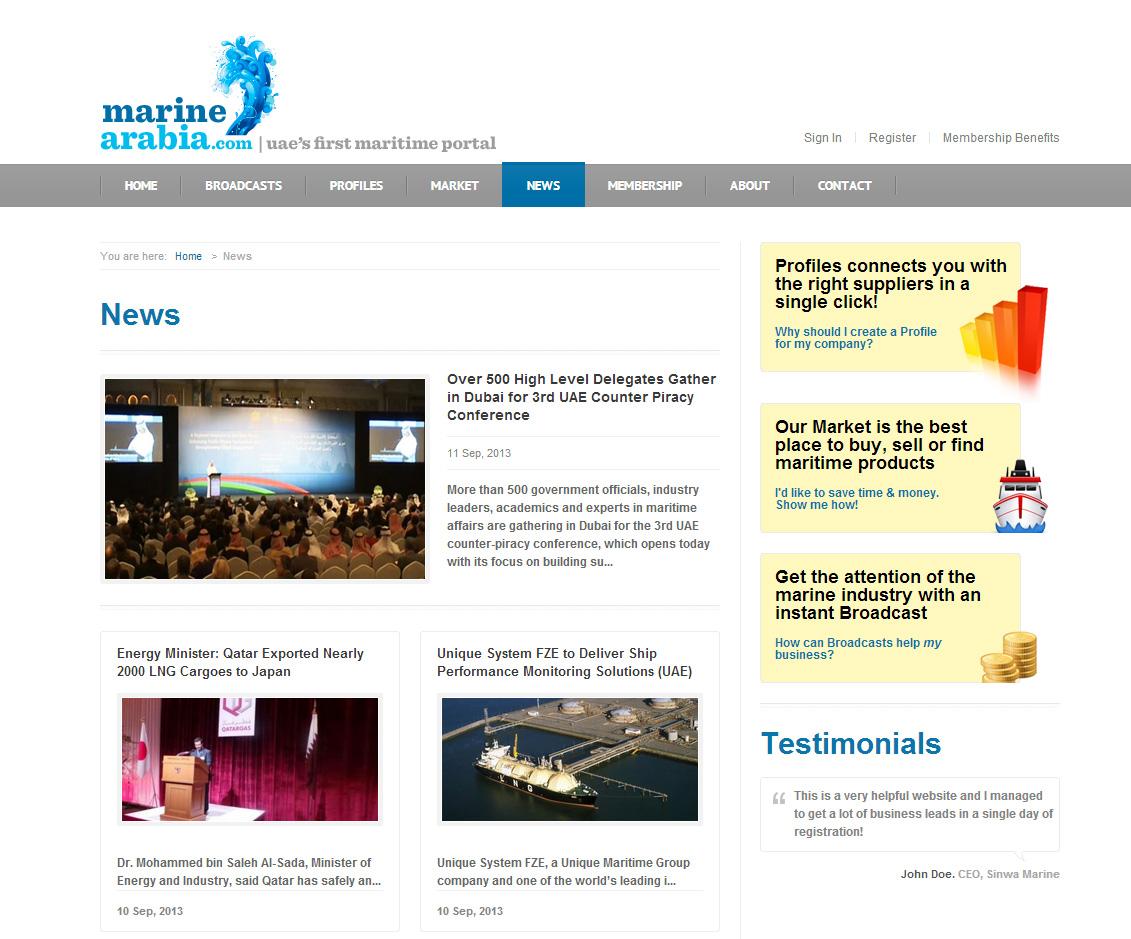 Marine-Arabia---News